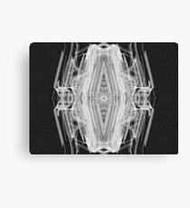 Squared Spider Canvas Print