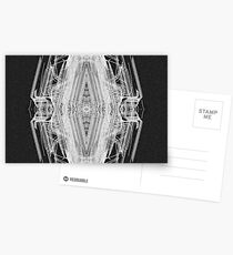 Squared Spider Postcards