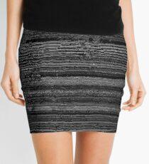 Giant Distortion Mini Skirt