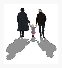 The Final Problem Johnlock Photographic Print