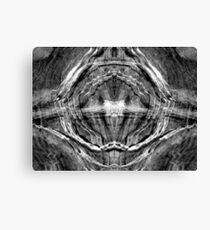 Pixels in Stone Canvas Print