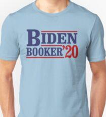 Biden Booker 2020 Slim Fit T-Shirt