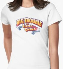 Big Trouble In Little China - HD White Womens Fitted T-Shirt