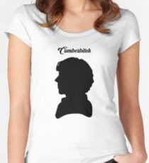 CUMBERBITCH - Sherlock TV Series/Benedict Cumberbatch Fan Women's Fitted Scoop T-Shirt