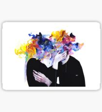 Intimacy on Display - Agnes Cecile Sticker
