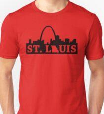 Distressed St. Louis Skyline T-Shirt
