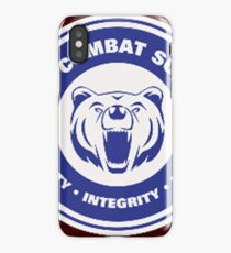 You want to rock a bear.  iPhone Case/Skin