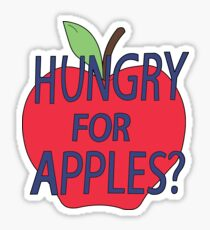 Rick & Morty - Hungry For Apples? Sticker