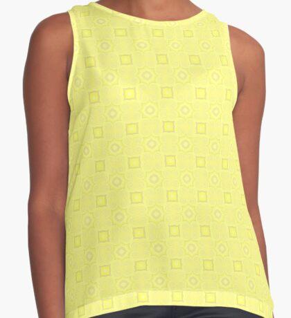 Pale Yellow Design by Julie Evehart Sleeveless Top