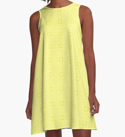 Pale Yellow Design by Julie Evehart A-Line Dress