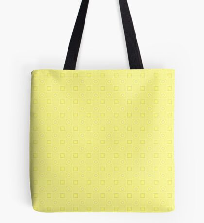 Pale Yellow Design by Julie Evehart Tote Bag
