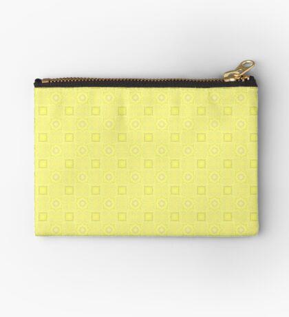 Pale Yellow Design by Julie Evehart Zipper Pouch