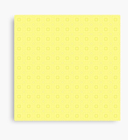 Pale Yellow Design by Julie Evehart Canvas Print