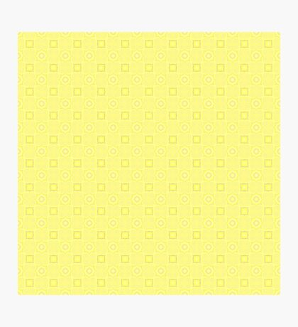 Pale Yellow Design by Julie Evehart Photographic Print
