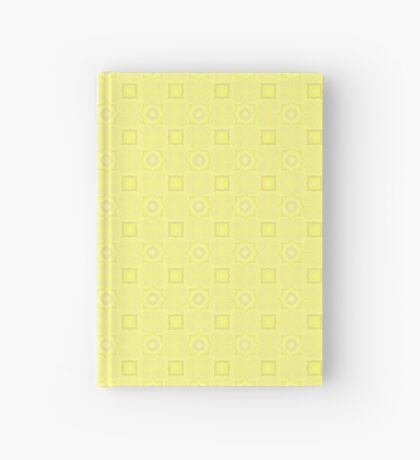 Pale Yellow Design by Julie Evehart Hardcover Journal