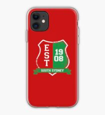 South Sydney Rugby League: Established Shield iPhone Case