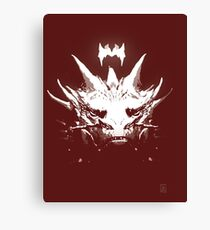 King Under the Mountain - Team Smaug Canvas Print