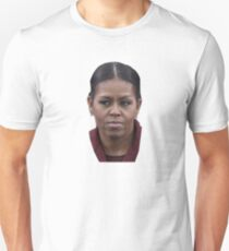 Michelle Obama Mean Face Unisex T-Shirt