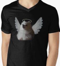 Camiseta de cuello en V RIP Gabe