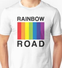 RAINBOW ROAD !!! Unisex T-Shirt