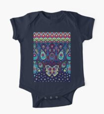 Midnight butterflies - Bohemian pattern by Cecca Designs Kids Clothes
