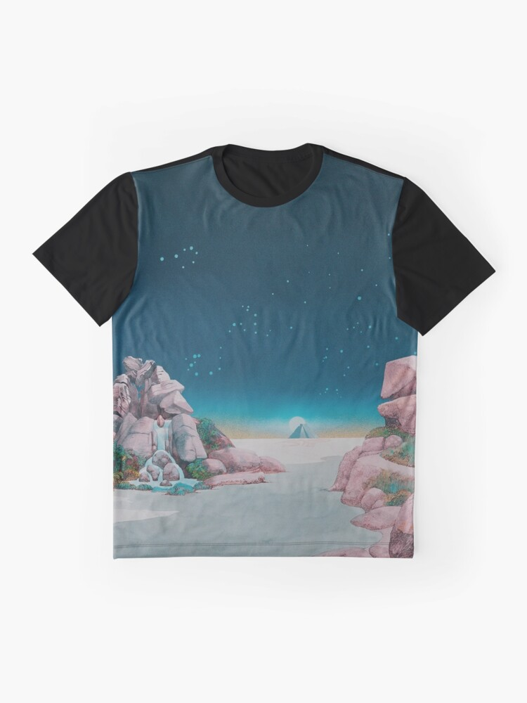 Alternate view of Yes - Tales from Topographic Oceans Graphic T-Shirt