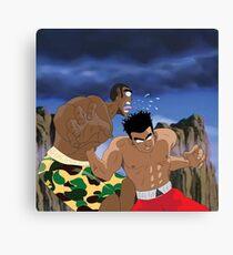 Chris Brown v.s Soulja Boy Canvas Print