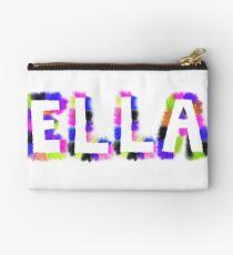 ELLA: Rainbow Smudge Design 3 Studio Pouch