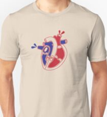 An illustration of a working heart T-Shirt