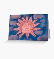 celestial serenity Greeting Card