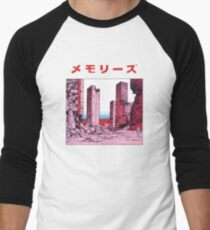 Camiseta ¾ bicolor para hombre Katsuhiro Otomo - Recuerdos
