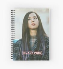 blackpink jisoo Spiral Notebook