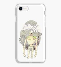 Laputa Castle in the Sky - Robot iPhone Case/Skin