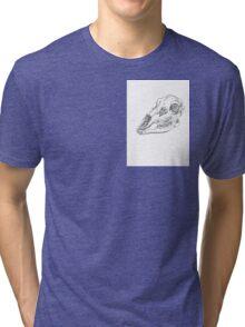 Stippling Deer Tri-blend T-Shirt