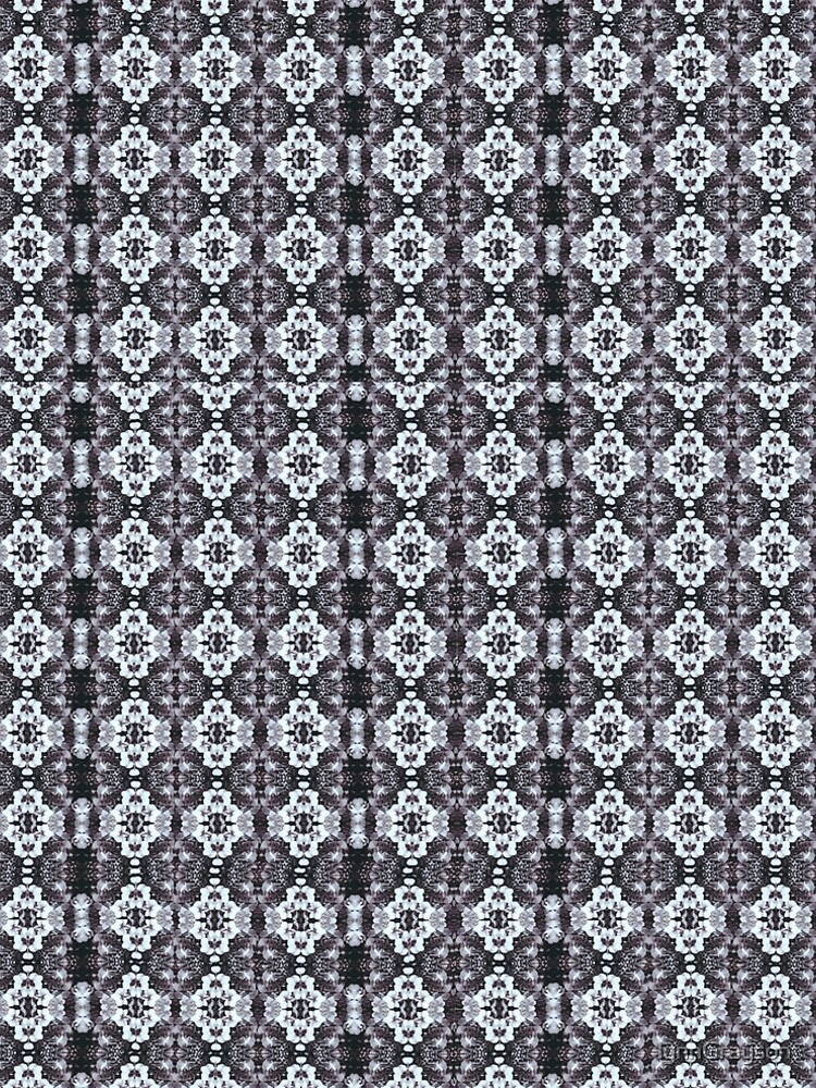 White Black Orchid Multi floral  by lynnGrayson