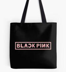 Bolsa de tela logotipo rosa blackpink
