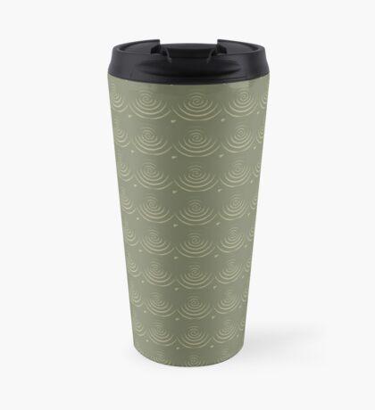 Sage Circles Travel Mug
