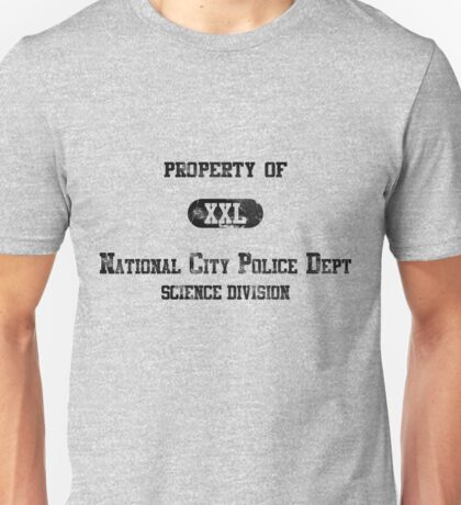 Property of NCPD - distressed Unisex T-Shirt