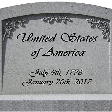 RIP United States of America by stardustmegu