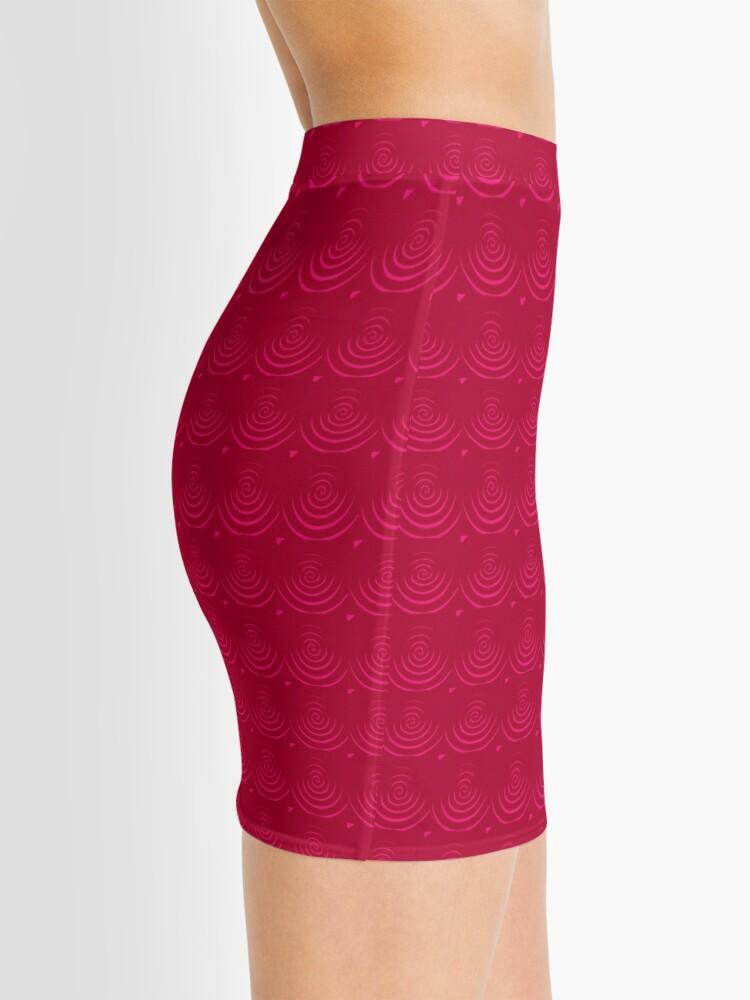 Alternate view of Magenta Red Mini Skirt