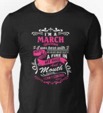 3581fd5f March Birthday T-Shirts   Redbubble