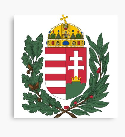 Hungary Coat of Arms Canvas Print