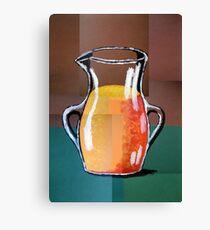 Vincent Van Gogh-Vase mit Orangensaft (Acryl-Malerei) Leinwanddruck