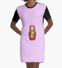 Doll Graphic T-Shirt Dress