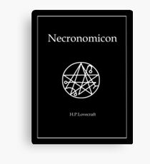 The Necronomicon Canvas Print