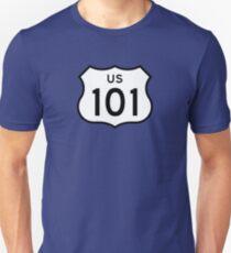 US Route 101 Sticker T-Shirt