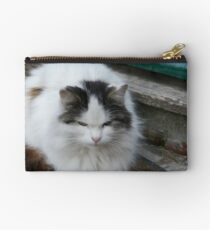 Kitty On The Mat........... Studio Pouch