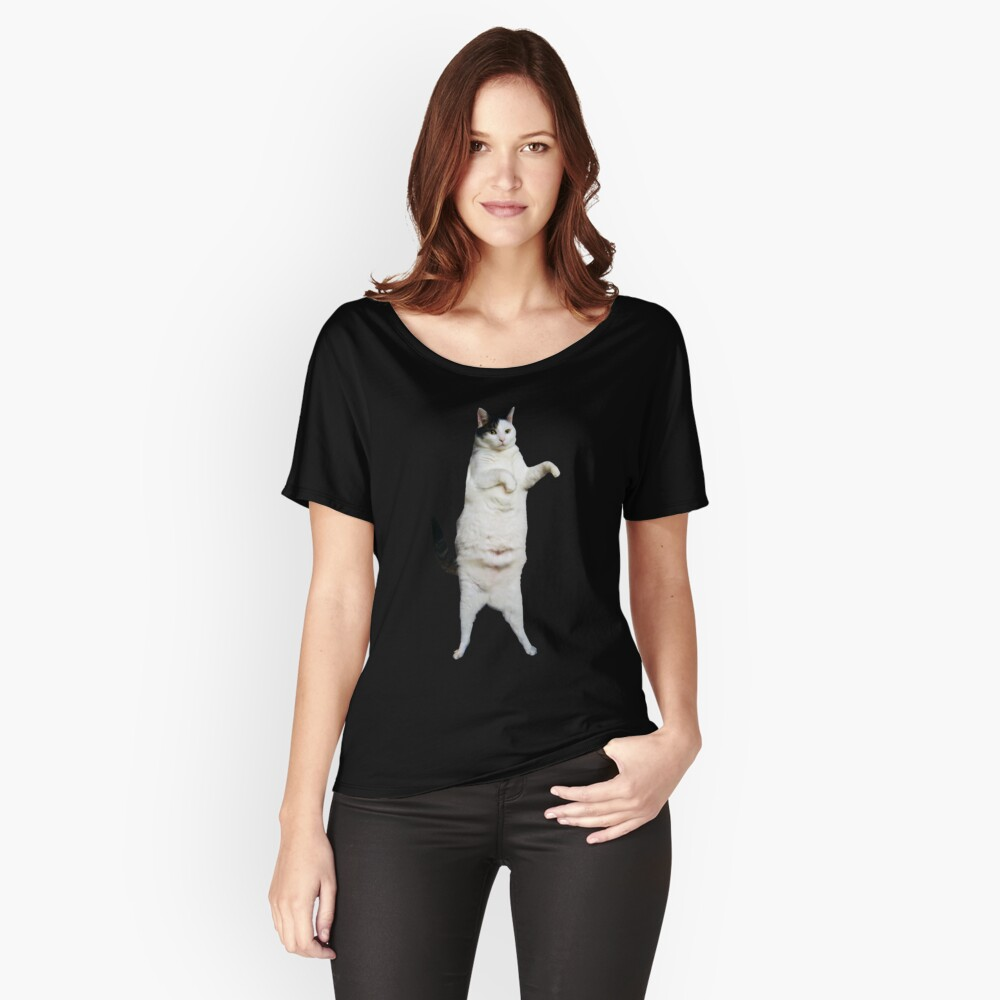 Kitty Cat Dance Women's Relaxed Fit T-Shirt Front