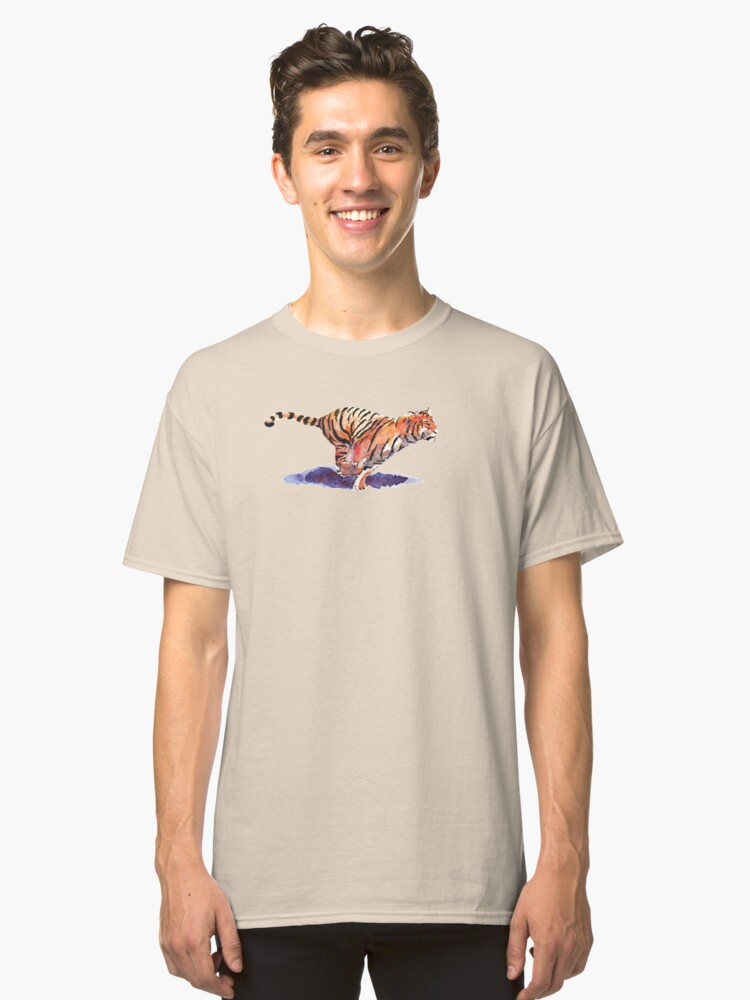 The Tiger Classic T-Shirt Front