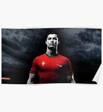 Ronaldo from Real Madrid Poster